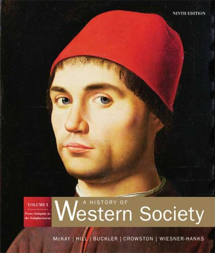 History of Western Society From Antiquity to Enlightenment 9th 2007 edition cover