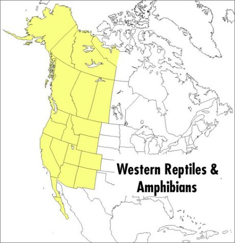Field Guide to Western Reptiles and Amphibians : Field Marks of All Species in Western North America, Including Baja California 2nd 1998 (Revised) edition cover