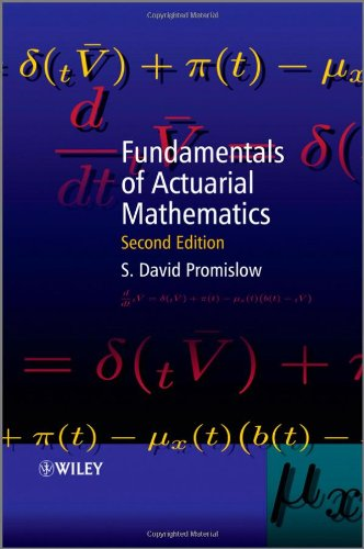 Fundamentals of Actuarial Mathematics  2nd 2011 edition cover