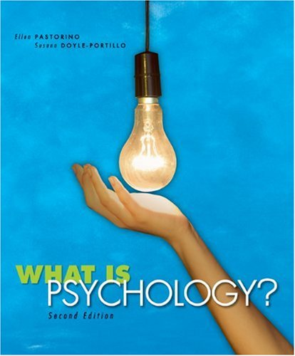 What Is Psychology?  2nd 2009 edition cover
