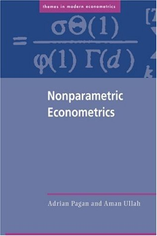 Nonparametric Econometrics   1999 9780521586115 Front Cover