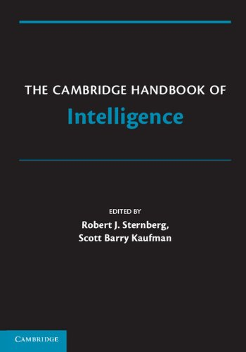 Cambridge Handbook of Intelligence   2011 9780521739115 Front Cover