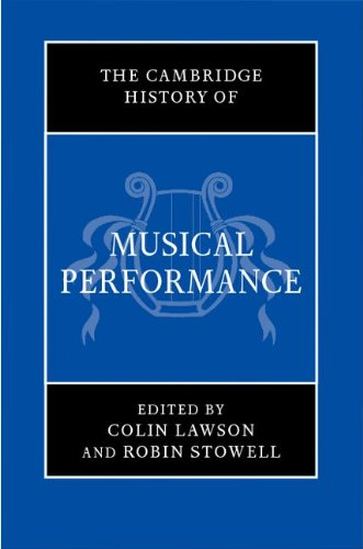Cambridge History of Musical Performance   2012 9780521896115 Front Cover