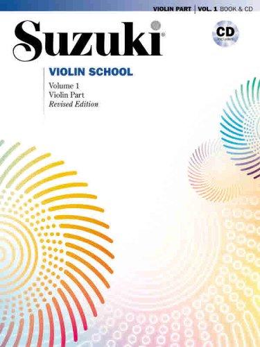 Suzuki Violin School, Vol 1 Violin Part, Book and CD  2007 (Revised) edition cover