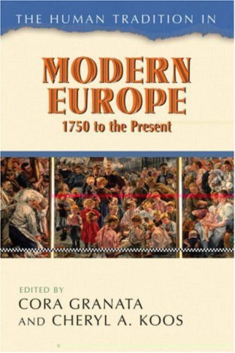 Human Tradition in Modern Europe, 1750 to the Present   2007 edition cover