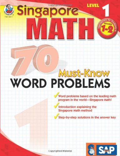 70 Must-Know Word Problems   2009 edition cover