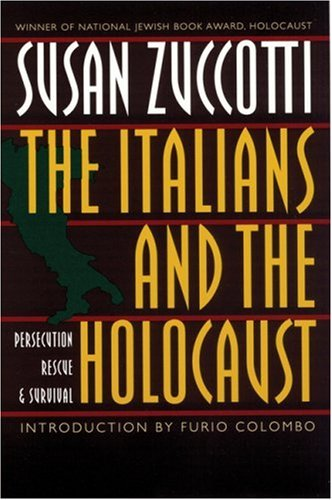 Italians and the Holocaust Persecution, Rescue, and Survival  1996 edition cover