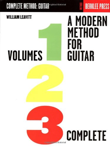 Modern Method for Guitar  Reprint  edition cover