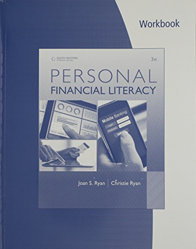 Personal Financial Literacy:   2016 9781305653115 Front Cover