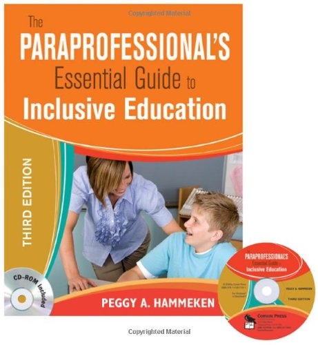 Paraprofessional's Essential Guide to Inclusive Education  3rd 2009 edition cover