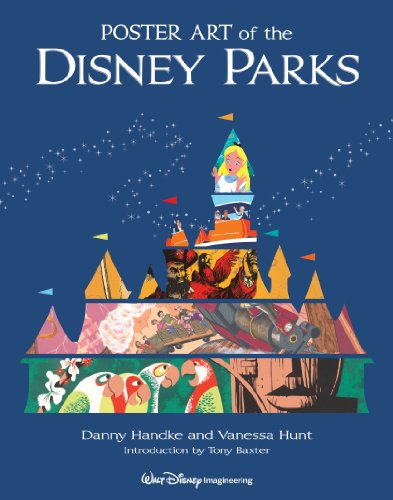 Poster Art of the Disney Parks   2012 edition cover