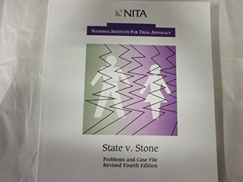 State vs. Stone : Alleged Rape 4th (Revised) edition cover