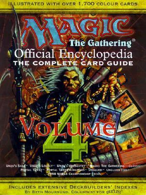 Magic The Gathering - Official Encyclopedia N/A 9781560252115 Front Cover