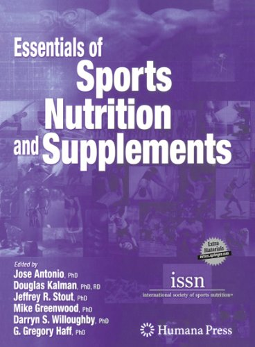 Essentials of Sports Nutrition and Supplements   2008 edition cover