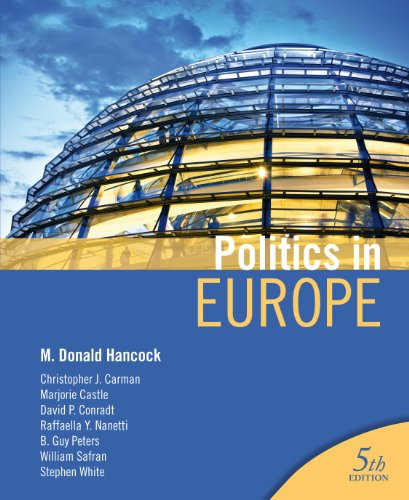 Politics in Europe  5th 2012 (Revised) edition cover
