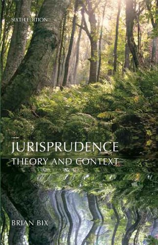 Jurisprudence Theory and Context 6th 2012 edition cover