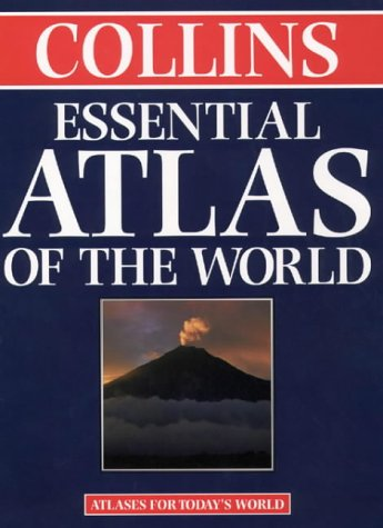 Collins Essential Atlas of the World   1998 edition cover