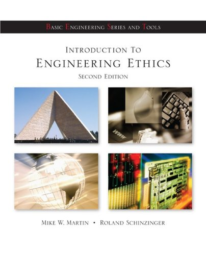 Introduction to Engineering Ethics  2nd 2010 edition cover
