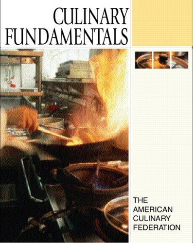 Culinary Fundamentals   2006 edition cover