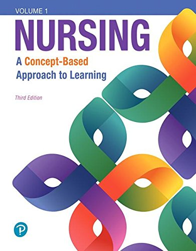 Nursing A Concept-Based Approach to Learning, Volumes I, II and III Plus MyLabNursing with Pearson EText -- Access Card Package 3rd 2019 9780134879116 Front Cover