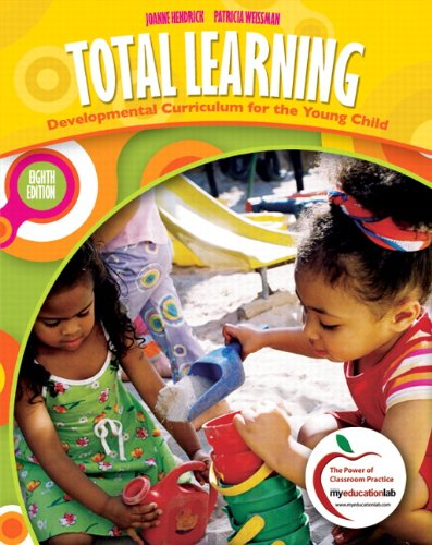 Total Learning Developmental Curriculum for the Young Child 8th 2011 edition cover