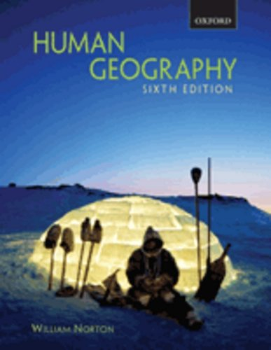 Human Geography  6th 2007 (Revised) 9780195425116 Front Cover