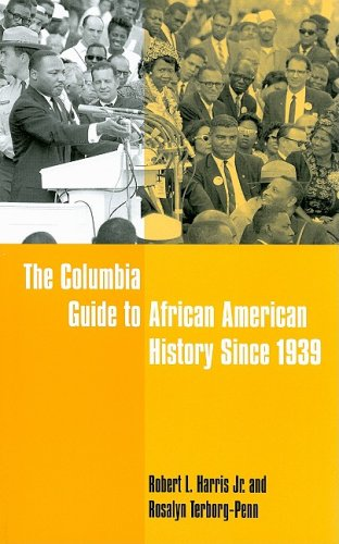 Columbia Guide to African American History Since 1939   2008 edition cover