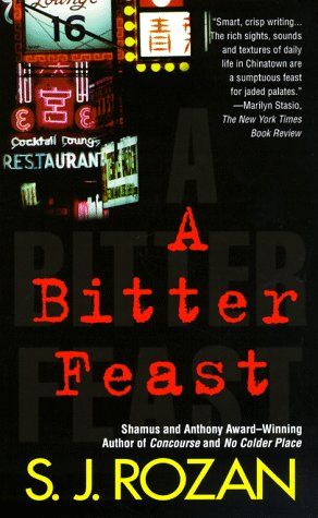 Bitter Feast  Reprint  9780312970116 Front Cover