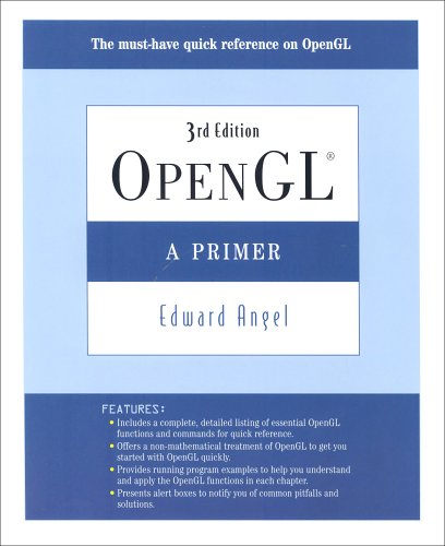 OpenGL A Primer 3rd 2008 edition cover
