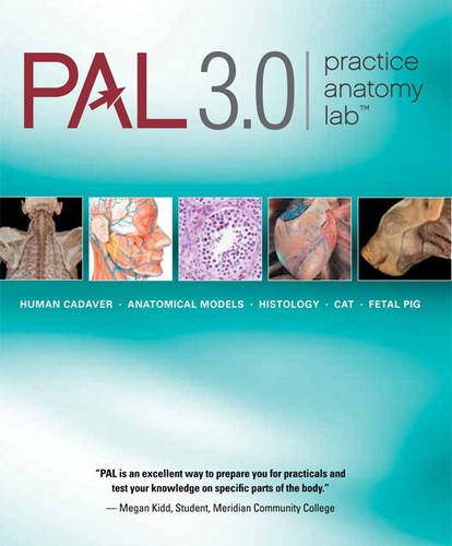 Practice Anatomy Lab 3. 0   2012 (Revised) edition cover