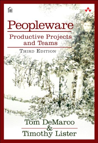Peopleware Productive Projects and Teams 3rd 2013 edition cover
