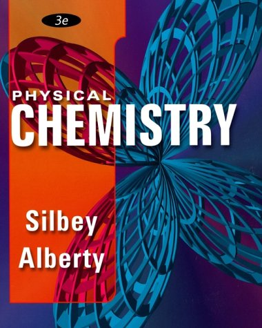Physical Chemistry  3rd 2001 edition cover