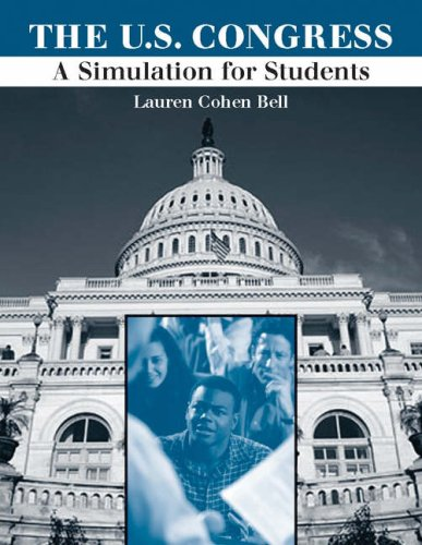 United States Congress : a Simulation for Students   2005 9780534631116 Front Cover