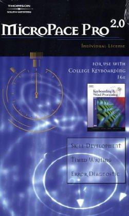 MicroPace Pro 2. 0 Individual License for College Keyboarding  4th 2006 (Revised) 9780538729116 Front Cover