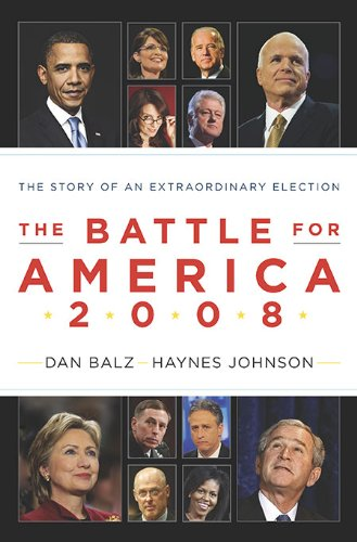 Battle for America 2008 The Story of an Extraordinary Election  2009 edition cover