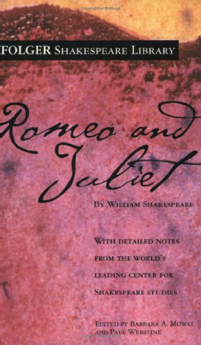 Romeo and Juliet   1992 edition cover