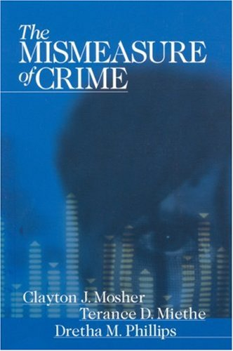 Mismeasure of Crime   2002 9780761987116 Front Cover