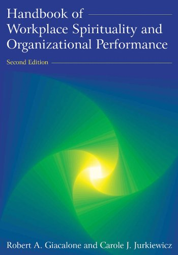 Handbook of Workplace Spirituality and Organizational Performance  3rd 2011 (Revised) edition cover