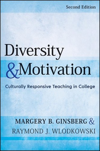 Diversity and Motivation Culturally Responsive Teaching in College 2nd 2009 edition cover