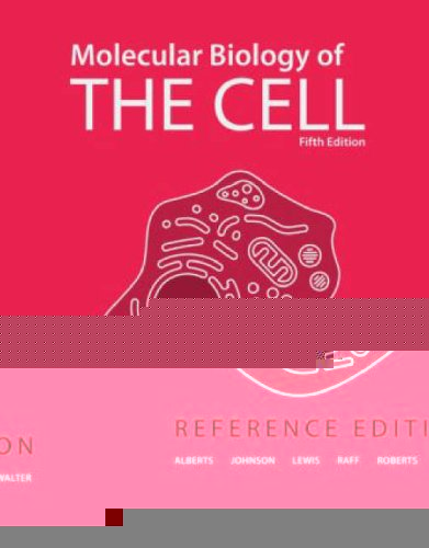 Molecular Biology of the Cell  5th 2008 (Revised) edition cover