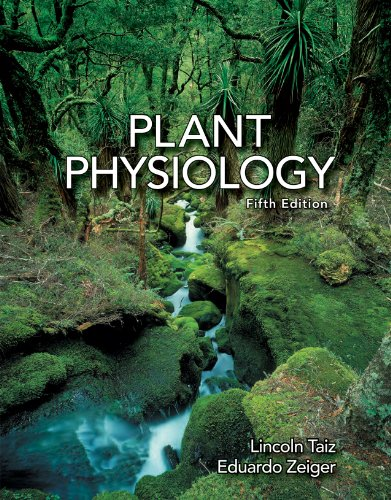 Plant Physiology:  2010 9780878935116 Front Cover