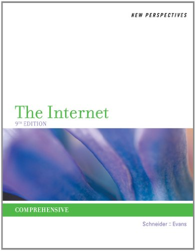 New Perspectives on the Internet Comprehensive 9th 2013 9781111529116 Front Cover