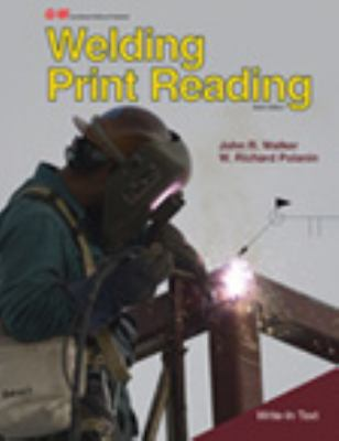 Welding Print Reading  6th 2013 edition cover
