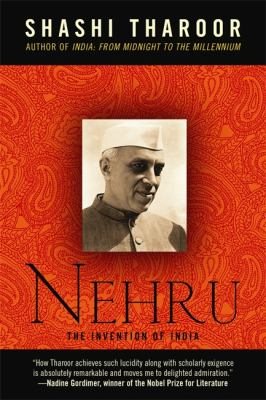 Nehru The Invention of India  2012 edition cover