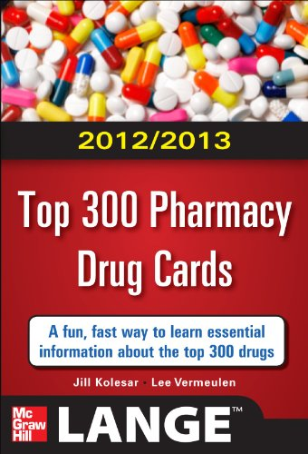 Top 300 Pharmacy Drug Cards 2012-2013   2012 edition cover