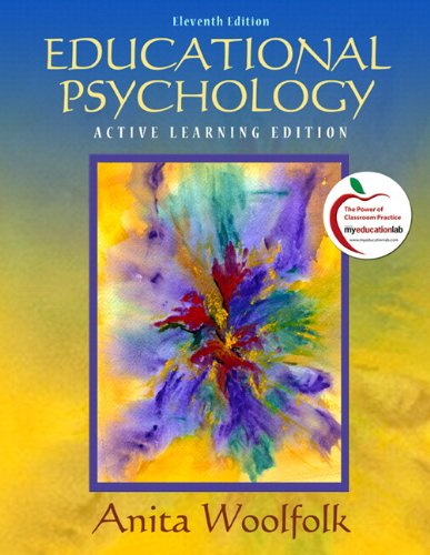 Educational Psychology Modular Active Learning Edition (with MyEducationLab) 11th 2011 edition cover