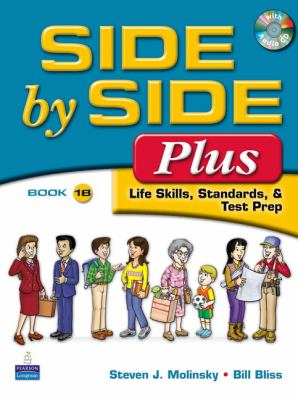 Side by Side Plus  3rd 2009 (Student Manual, Study Guide, etc.) 9780132090117 Front Cover