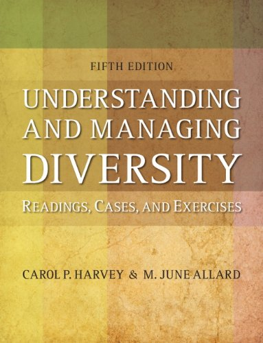 Understanding and Managing Diversity  5th 2012 edition cover