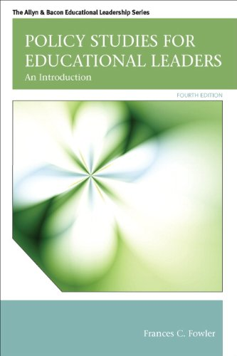 Policy Studies for Educational Leaders An Introduction 4th 2013 (Revised) edition cover