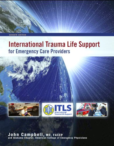International Trauma Life Support for Emergency Care Providers  7th 2012 (Revised) edition cover